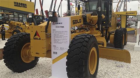 Дебют на Bauma China: самый большой автогрейдер SDLG