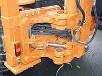 Fiat-Kobelco FB200.2 4WS. Каретка экскаватора