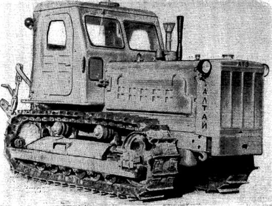 Трактор Т4 Алтаец: характеристики, устройство, фото