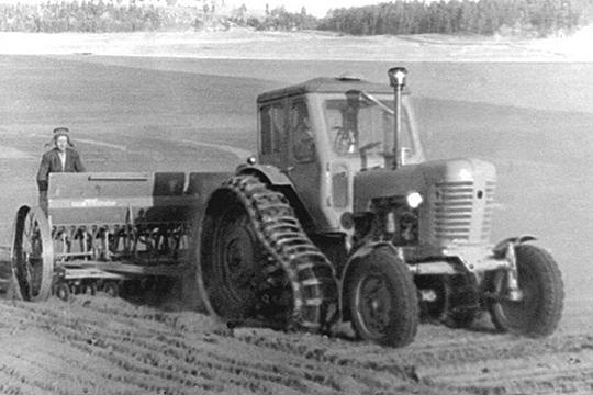 Полугусеничное исполнение трактора МТЗ-50