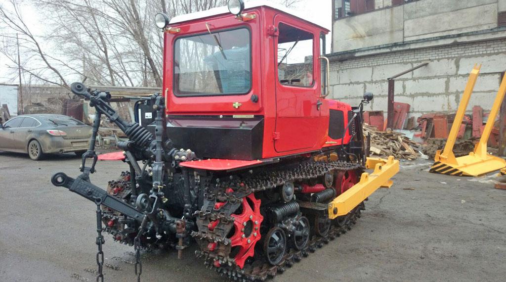 Фото трактора ДТ-75 (ВГТЗ)