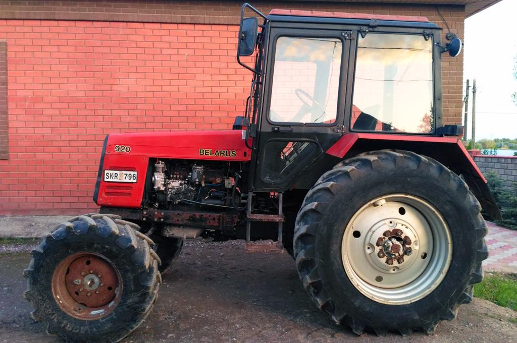 Фото трактора МТЗ 920