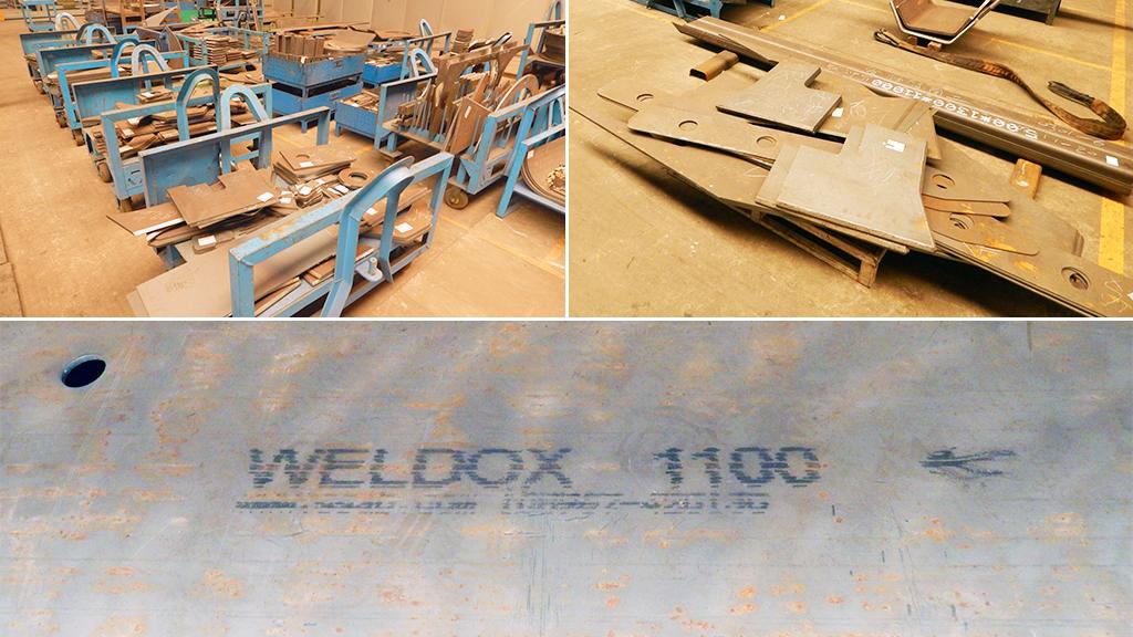 Для изготовления элементов конструкции машин используют высокопрочную сталь