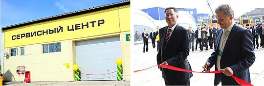 Открытие сервисного центра SHANTUI в Хабаровске