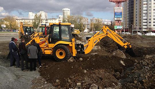MST M544 Plus на объекте в Воронеже. В комплектации -  джойстики и кондиционер