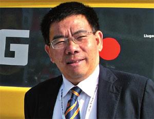 президент компании Liugong Цзэн Гуан