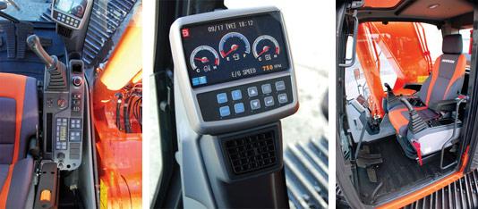 Doosan ввела кабины с системой безопасности ROPS в качестве стандарта для экскаваторов среднего класса
