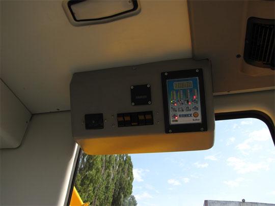 панель управления канатного экскаватора ЭО-4112А