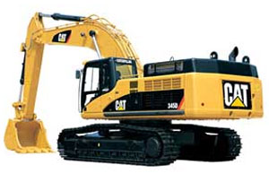 Гидравлический экскаватор Caterpillar 345D REGA