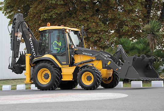 экскаваторы-погрузчики серии B от компании Volvo Construction Equipment