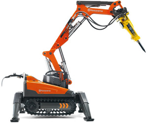 Новый робот Husqvarna DXR 140