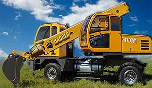 экскаватор Badger 470TM