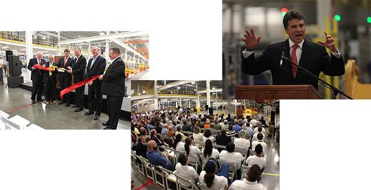 Открытие нового завода Caterpillar
