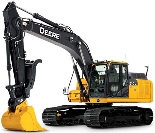 John Deere представляет новые модели гусеничных экскаваторов серии G