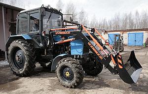 Навесное оборудование КРМЗ FRONTLIFT-800