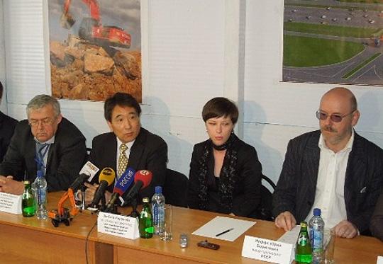 Итоги пресс-конференции на российской стройплощадке Hitachi: следующая конференция пройдет уже в здании завода