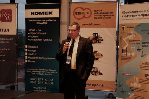 Приветственная речь на церемонии награждения лидеров рейтинга «Крупнейшие арендные компании России по итогам 2010 года» Юха Хейнонена (Крамо Рус)
