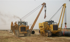 Техника ЧЕТРА в работе, Алжир 2010