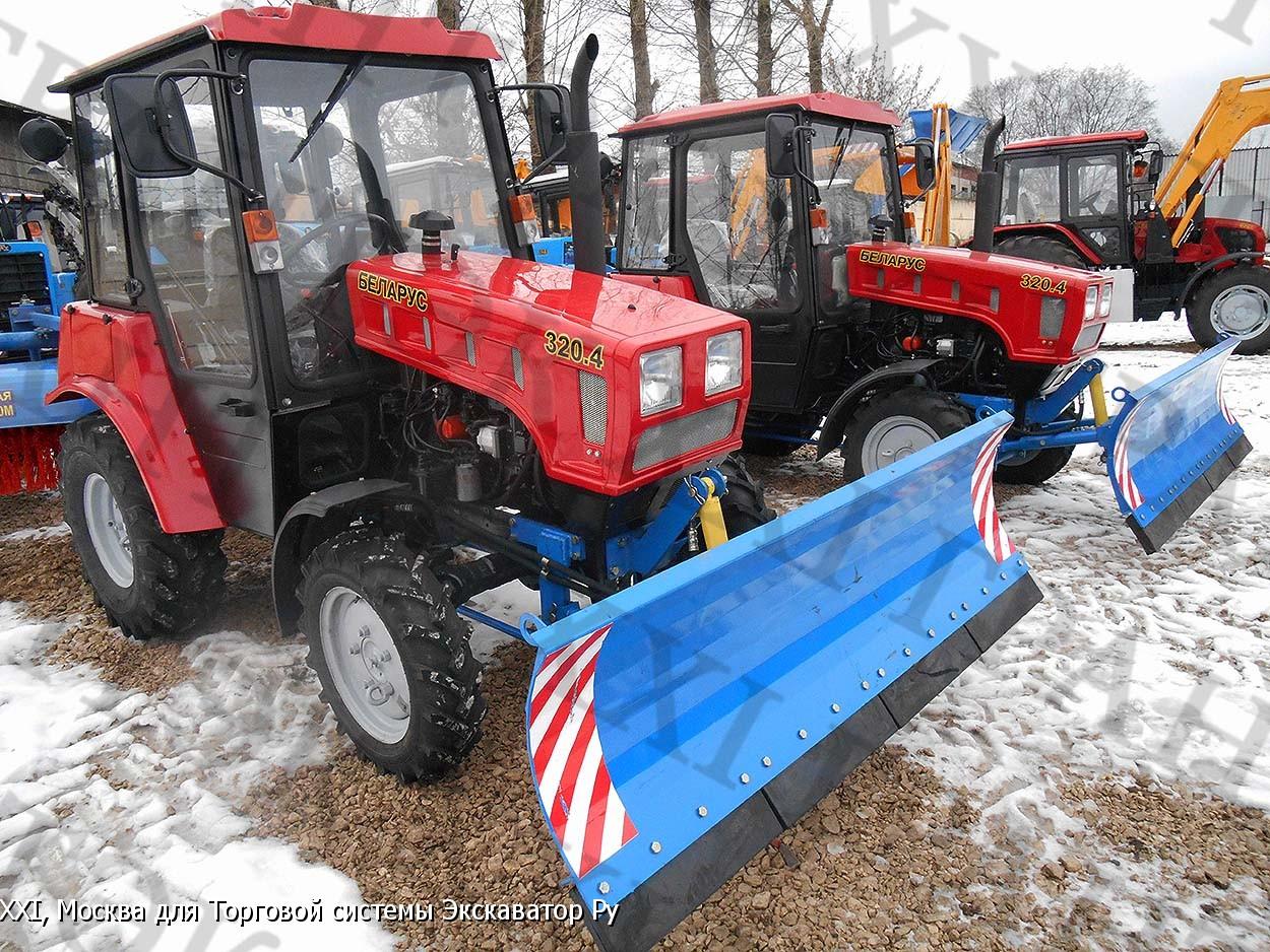 Сверхмощный трактор МТЗ-4522